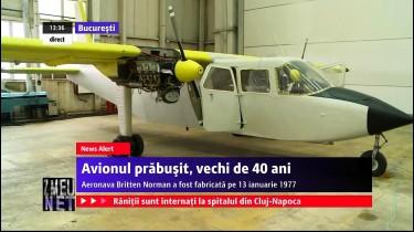 Avionul pilotat de Adrian IOVAN – BN2A Britten Norman