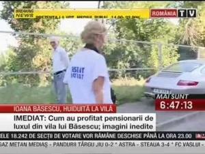 pensia jigodiilor de lux babele si bosorogii lui iliescu injura pe fiica presedintelui Ioana Basescu