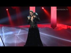 Video CEZAR OUATUL in ROCHIE decoltata cu corset reprezinta Romania la Eurovision 2013